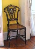 Antik dekorativ stol Royaltyfria Foton