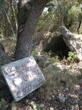 Antik dolmen Arkivbilder