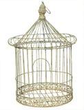 antik fågelbur Royaltyfria Foton
