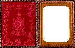antik falldaguerreotypebild arkivbild