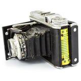 Antik filmkamera. Arkivfoton