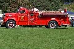 antik firetruck Royaltyfri Foto