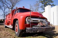 antik firetruck Royaltyfria Foton
