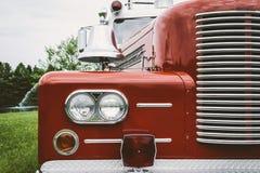 Antik Firetruck Royaltyfri Bild