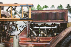 Antik Firetruck Fotografering för Bildbyråer