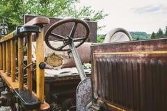 Antik Firetruck Royaltyfria Bilder