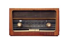antik gammal radio Fotografering för Bildbyråer