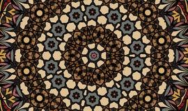 Antik geometrisk bakgrund Royaltyfri Bild
