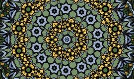 Antik geometrisk bakgrund Arkivbilder