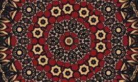Antik geometrisk bakgrund Royaltyfri Foto