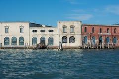 Antik glastillverkningmurano venice veneto Italien Europa Royaltyfri Bild