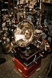antik grammofon Royaltyfria Bilder