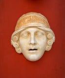 antik grekisk maskering Arkivbilder
