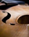 antik härlig fiol Arkivbild