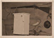 Antik hagelgevär Arkivfoton
