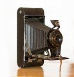 Antik hopfällbar kamera ingen 2C Fotografering för Bildbyråer