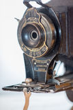Antik hopfällbar kamera ingen 2C Arkivfoton