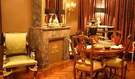 antik interior Royaltyfri Bild