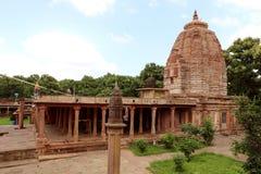 Antik Jain tempel Arkivbilder