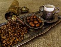 antik kaffegrinder Arkivfoto