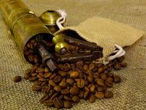 antik kaffegrinder Royaltyfria Bilder