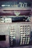 Antik kassaapparat Arkivbilder