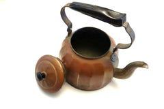 Antik kettle Arkivfoto