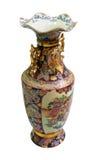 antik kinesisk porslinvase royaltyfria bilder