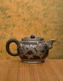 Antik kinesisk Teapot Royaltyfria Bilder