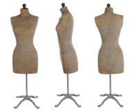 antik klänningdatalista Royaltyfri Foto