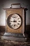 antik klocka Arkivfoto