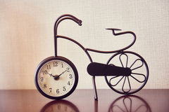 antik klocka Arkivbild