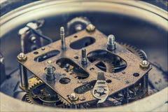 Antik klocka inom Arkivbilder