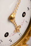 antik klockacloseguld upp Royaltyfri Foto