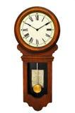 antik klockavägg Arkivbilder