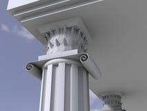 antik kolonnmarmor Royaltyfri Bild