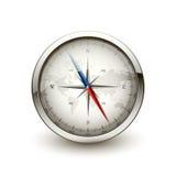 antik kompass stock illustrationer