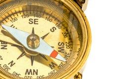 antik kompass Arkivfoto