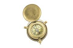 antik kompass Arkivbild