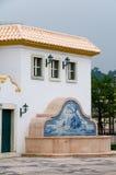 antik konstruktionsgata Royaltyfri Bild