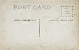 antik kortstolpe Royaltyfri Fotografi