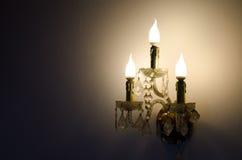 antik lampa Fotografering för Bildbyråer