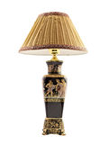 Antik lampa Arkivbild