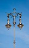 Antik lampstolpe Arkivfoto