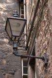 antik lampstret Royaltyfri Foto