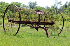 Antik lantgårdutrustning Fotografering för Bildbyråer
