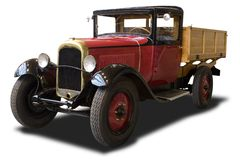 antik lastbil Arkivbilder