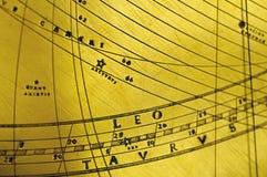 antik leo planetariumtaurus vektor illustrationer