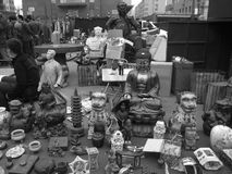 antik marknad Fotografering för Bildbyråer