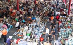 Antik marknad för Panjiayuan loppa fotografering för bildbyråer